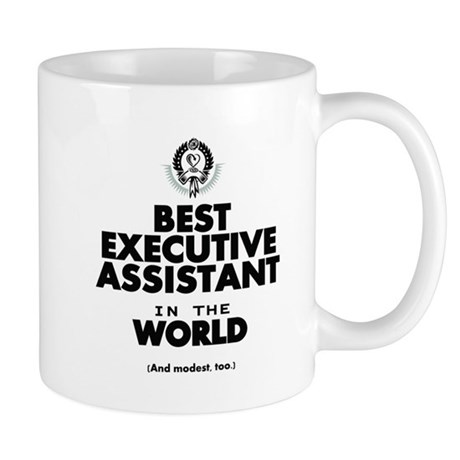 The Best In The World U2013 Executive Assistant Mugs