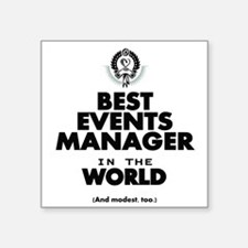 The Best in the World – Events Manager Sticker