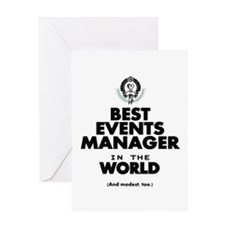The Best in the World – Events Manager Greeting Ca