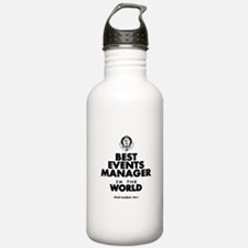 The Best in the World – Events Manager Water Bottl