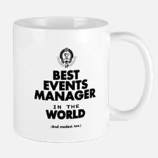 The Best in the World – Events Manager Mugs