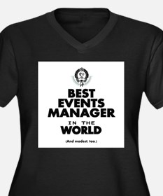 The Best in the World – Events Manager Plus Size T