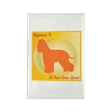 Spaniel Happiness Rectangle Magnet (100 pack)