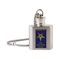 Order of the Eastern Star Flask Necklace