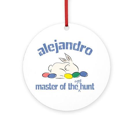Easter Egg Hunt - Alejandro Ornament (Round)