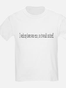 I Wish my lawn was emo T-Shirt