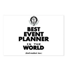 The Best in the World – Event Planner Postcards (P
