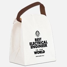 The Best in the World – Electrical Engineer Canvas