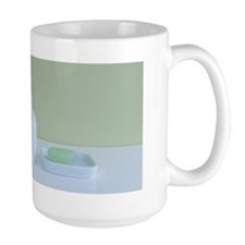 Toothbrushes and soap Mug