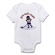 Dark Hockey Infant Bodysuit