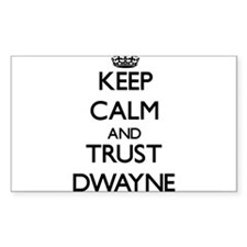 Keep Calm and TRUST Dwayne Decal