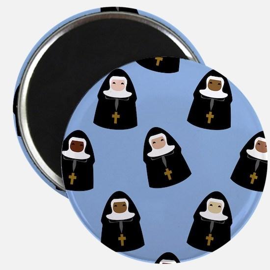 Cute Nuns Magnets
