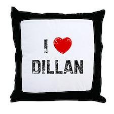I * Dillan Throw Pillow