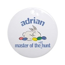 Easter Egg Hunt - Adrian Ornament (Round)