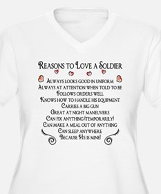 10 Reasons to love a soldier T-Shirt