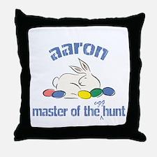 Easter Egg Hunt - Aaron Throw Pillow
