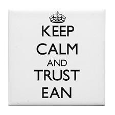 Keep Calm and TRUST Ean Tile Coaster