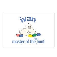 Easter Egg Hunt - Ivan Postcards (Package of 8)