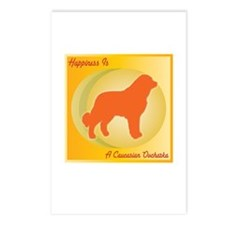 Caucasian Happiness Postcards (Package of 8)