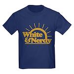 White & Nerdy Kids Dark T-Shirt