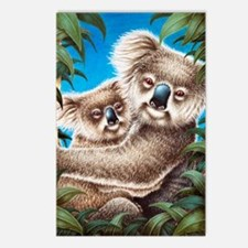 Koalas Area Rug 5x7 Postcards (Package of 8)