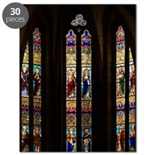 Gothic Stained Glass Windows in Spanish Chu Puzzle