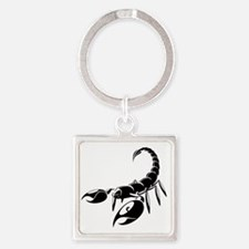 Giant Robot Scorpions Square Keychain