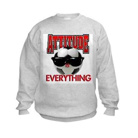 Attitude is Everything Kids Sweatshirt