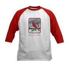 Red Northern Cardinal Bird Personalize Baseball Je