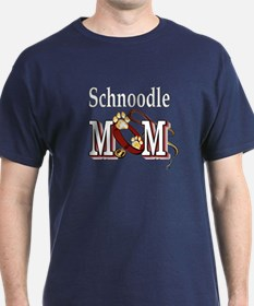 Schnoodle Mom T-Shirt
