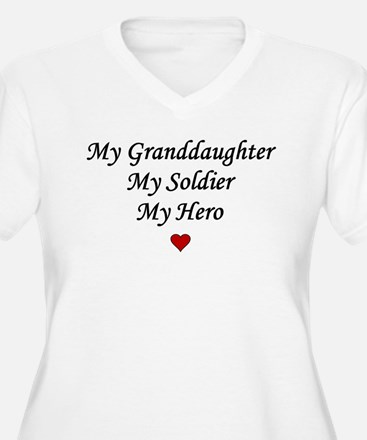 My Granddaughter Soldier Hero T-Shirt