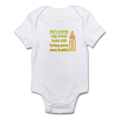 Let's Party B.Y.O.B. Infant Bodysuit