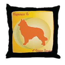 Tervuren Happiness Throw Pillow