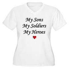 My Sons, My Soldiers, My Hero T-Shirt