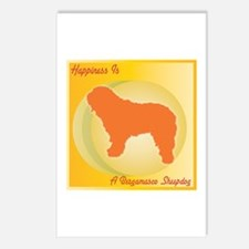 Bergamasco Happiness Postcards (Package of 8)