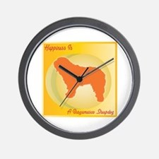 Bergamasco Happiness Wall Clock