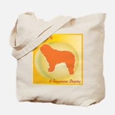 Bergamasco Happiness Tote Bag