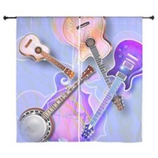 "Stringed instruments 60"" Curtains"