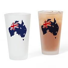 Austrailia Drinking Glass