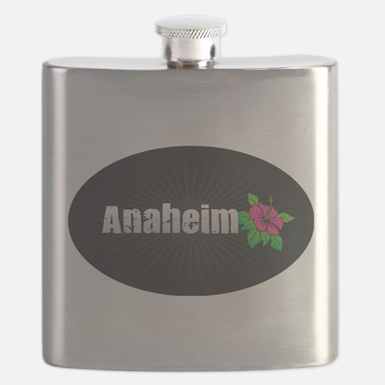 Anaheim Hibiscus Flask