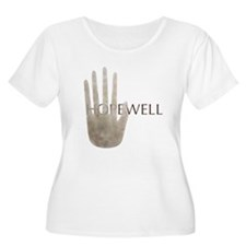 Hopewell Mound Mica Hand Women's Plus Size Scoop T