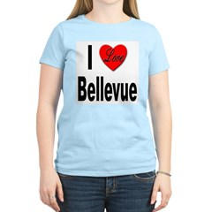 I Love Bellevue (Front) T-Shirt