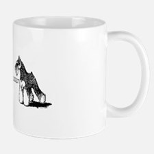Love My Mini-Schnauzer Mug