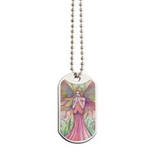 Wildflower Fairy Fantasy Art Dog Tags