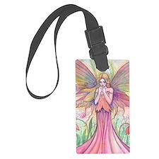 Wildflower Fairy Fantasy Art Luggage Tag