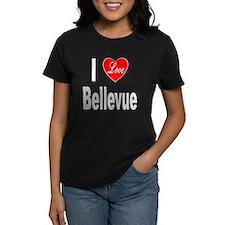 I Love Bellevue (Front) Tee