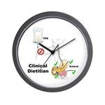 Clinical Dietitian Wall Clock