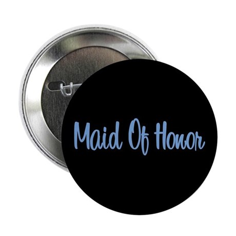 Maid Of Honor - Blue Button