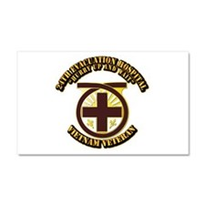 Army - 24th Evacuation Hospital Car Magnet 20 x 12
