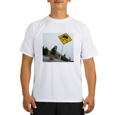 Slippery When Wet Road Sig Performance Dry T-Shirt